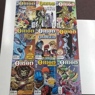 Orion (2000 DC) Complete Comics Set