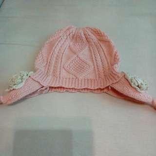 🚚 女童春秋針織帽