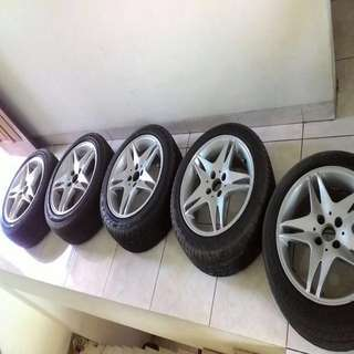 Velg made in england original R16 (bekas di pakai ke great corolla)