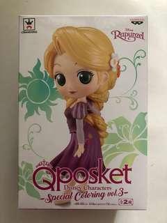 Qposket 大隻 魔髮奇緣 樂佩 Rapunzel figure 日版全新