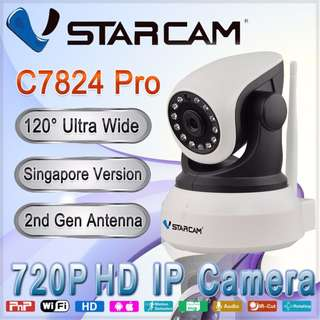 C7824 Pro 720P wireless IP camera