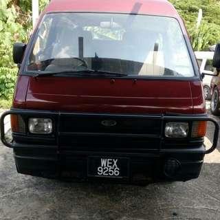 Van ford untuk dijual. Tahun 96