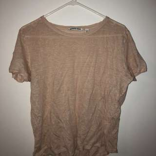 Country Road Peach / Skin Coloured Top