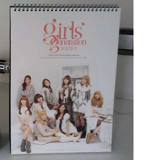Girls' Generation (SNSD) 2011 Official Stand Calendar
