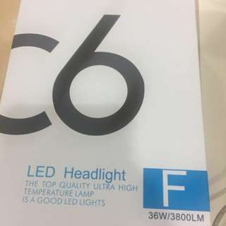 C6 Led Headlight