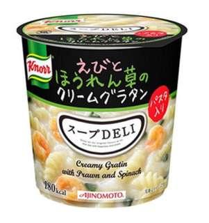 日本杯裝 菠菜蝦扭扭粉