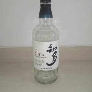 Empty Bottle The Chita Suntory Whisky