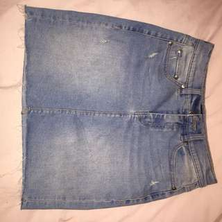 Denim skirt BNWOT