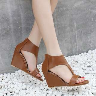Size 35-40 Peep Toes Wedges