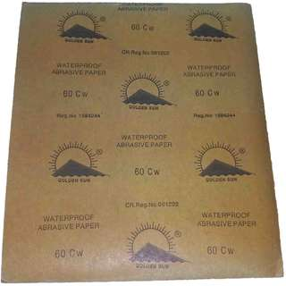 Golden sun sand paper no. 60