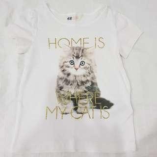 H&M GIRL'S T-SHIRT