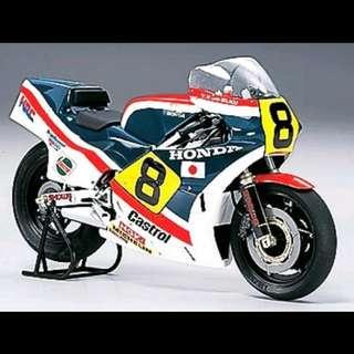 Tamiya Masterwork 1/12 Honda NS500 Grand Prix Racer '83 No.8 (Finished Model) スペース. Item No :21048 精密電單車模型完成品