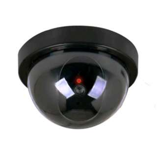 Dummy Security CCTV Video Surveillance Camera Red LED Flash Light