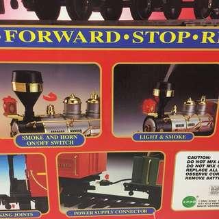 大型火車玩具 - 會出煙