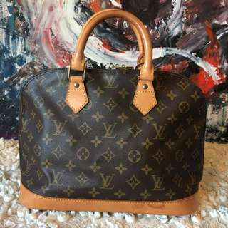 Lv Alma monongram good condition rank ab
