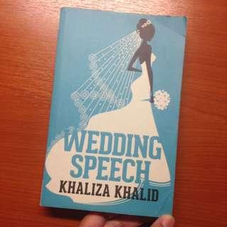 Wedding Speech by Khaliza Khalid