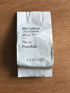 Laneige BB Cushion Pore Control Refill (No.11 Porcelain)