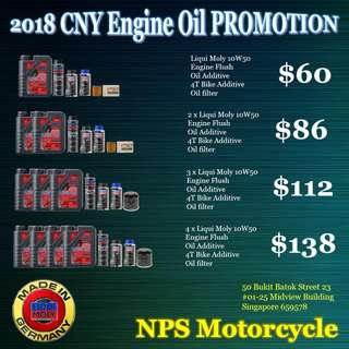 Liqui Moly Engine Oil Promotion