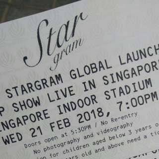 Stargram concert