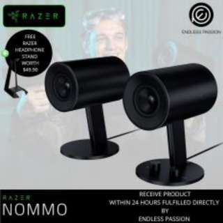 Razer Nommo Full range 2.0 gaming speakers for PC