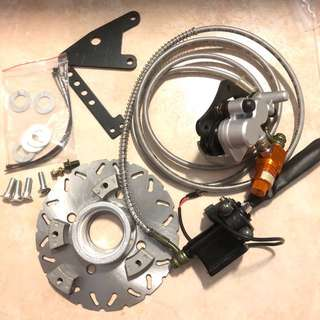 ebike double pump
