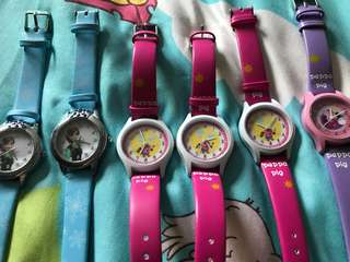 Kids watch brand new Suitable For 2-12yrs old ** selling cheap cuz watch no battery .. need to bring and fix new battery