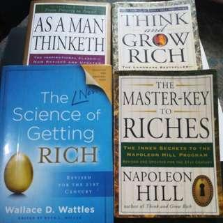 Get rich book bundle.