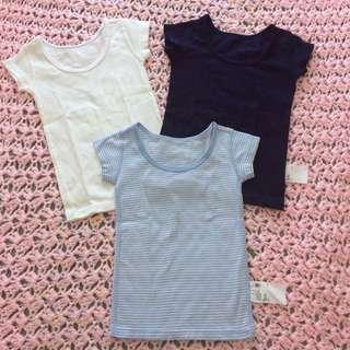Uniqlo T-Shirt 3-pack set
