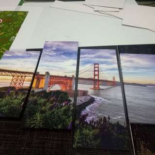 San Francisco Bridge Wall Art Canvas