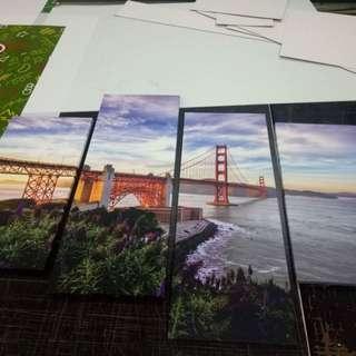 San Francisco Bridge Wall Art Canvas