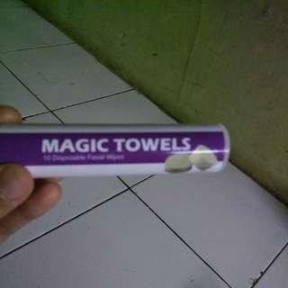 Magic towel gratis s&k berlaku