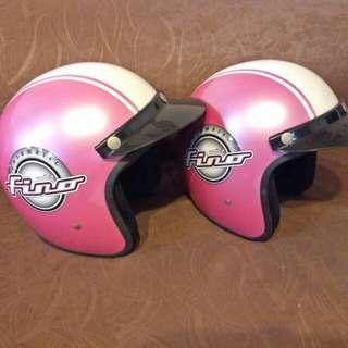 X2 Preloved retro Fino / Vespa scooter helmets (Fino)
