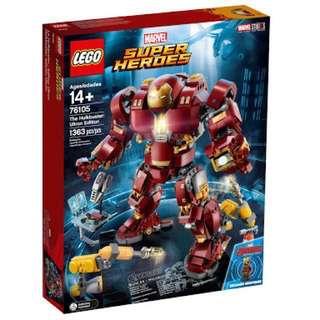 PO: LEGO 76105 - Hulkbuster (Ultron Edition)