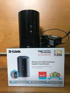D-Link Wireless AC1300 Dual Band Gigabit Cloud Router