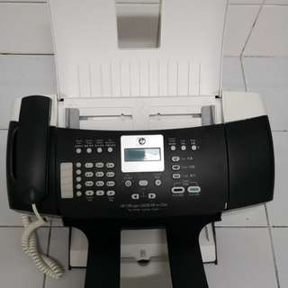 Used Hp 3 in one fax machine. Condition : 10/10.price:$120/=.meet up at outram