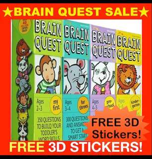 Brain Quest brand new, cheapest in SG guaranteed