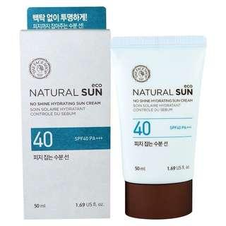 No Shine Hydrating Sun Cream