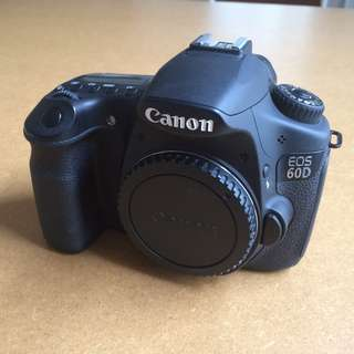 Cheapest on Carousell! Canon 60D body with third party battery grip.
