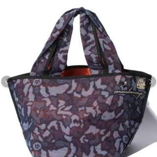 日本購入Mercibeaucoup 紫色手挽上膊袋日本製 原價2萬yen