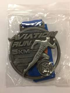 Singapore Aviation Run Medal