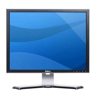 "Dell 2007FPB ,VGA and DVI Interface ,Silver / Black 20.1"" 16ms ultra sharp LCD Monitor"