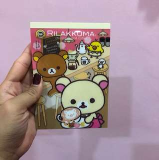 Rilakkuma Fancy Notepad