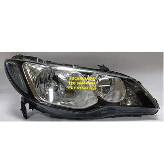 Honda Civic '06-08 (FD1) Head Lights without H.I.D.