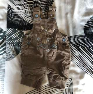 Baby firsts romper