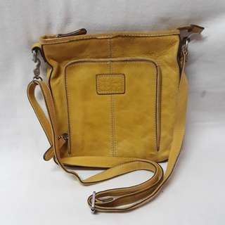 Fossil cross body bag preowned