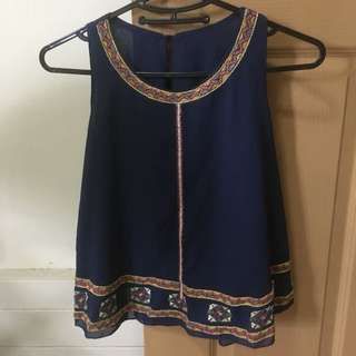BN Embroidered Top