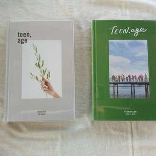 TEEN, Age Albums (white ver. & green ver.