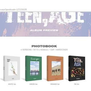 [PO] Seventeen - Teen Age (ALL SET 4 Version)