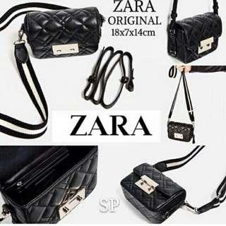 Tas Wanita Double Lock Zara