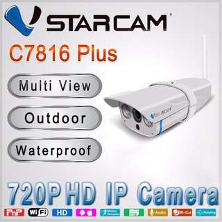 C7816 Plus 720P wireless IP camera